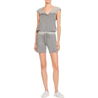 Marika Womens Jumpsuit Hooded Sleeveless - l