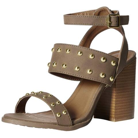 006d4e78036 Qupid Womens beekler Open Toe Casual Slingback Sandals