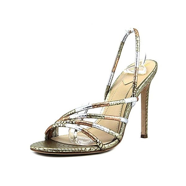 Brian Atwood Womens Fifi Dress Sandals Open Toe Stiletto