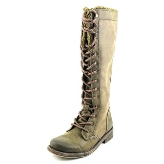 Lucky Brand Looloo Women Round Toe Leather Knee High Boot