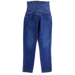 James Jeans NEW Dark Blue Women's Size 30X30 Straight Leg Maternity Jeans