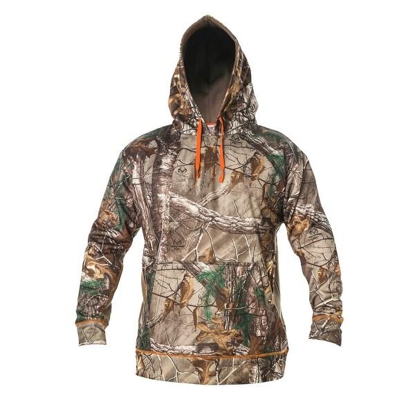 Men's Pullover Poly Fleece Hood