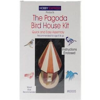 Unfinished Wood Kit-Pagoda Bird House