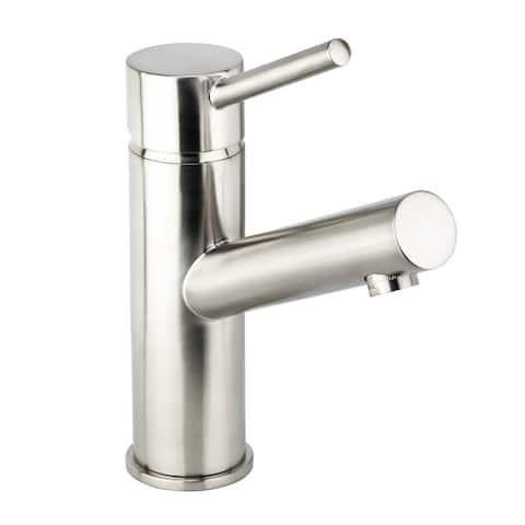 Miseno ML102 Mia 1.2 GPM Single Hole Bathroom Faucet with 50/50 Push-Pop Drain Assembly