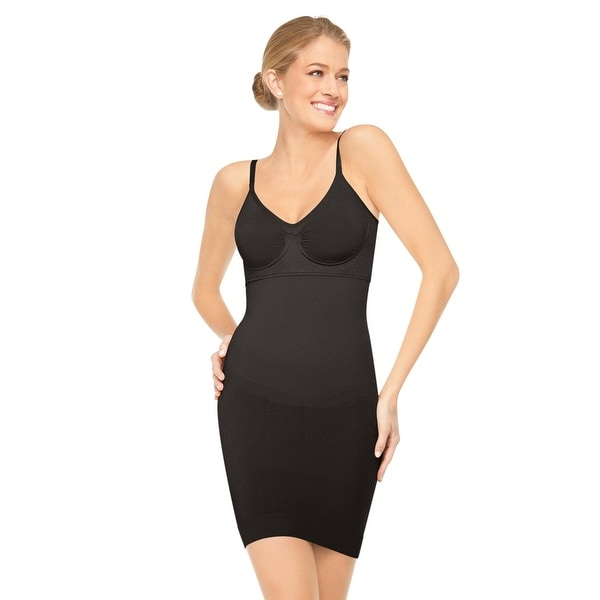 0f5bfa3664 SPANX Slim Cognito Women  x27 s Shapewear Underwire Full Shape Slip Briefer  392