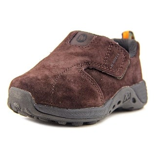 Merrell Jungle Moc Sport A/C Round Toe Leather Sneakers