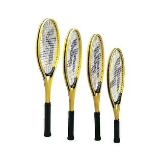 Sportime Yeller 25 in Intermediate Tennis Racquet, Yellow/Black
