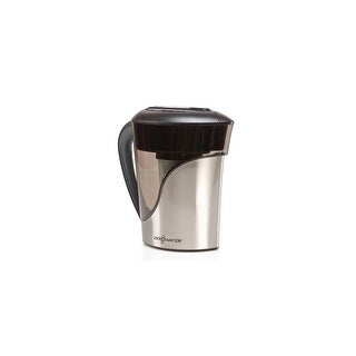 Zero Water 8-Cup Stainless Steel Ion Exchange Water Dispenser Pitcher ZS-008