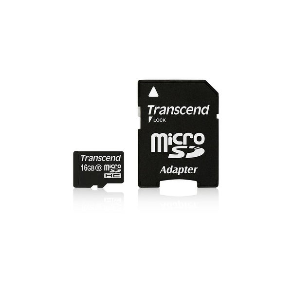 Transcend TS16GUSDHC10M SECURE DIGITAL 16GB MICRO SDHC CL10