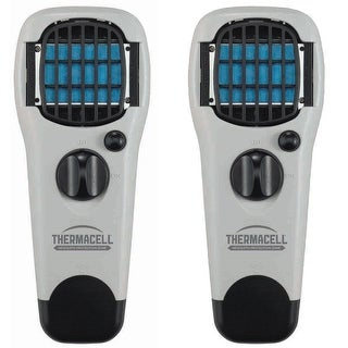 ThermaCELL Mosquito Repellent Outdoor & Camping Repeller Devices (Gray) 2-Pack