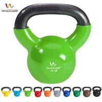 Wacces Single Vinyl Dipped Kettlebell for Cross Training, Home Exercise