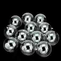 "12ct Clear Shatterproof Shiny Christmas Ball Ornaments 4"" (100mm)"