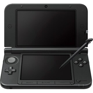 "Nintendo REDSVAAA Nintendo 3DS XL System - 4.9"" Active Matrix TFT Color LCD - Black - Dual Screen - 800 x 240 - 128 MB"