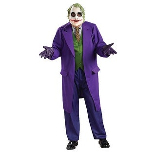 Rubies The Dark Knight Deluxe The Joker Adult Costume - Solid