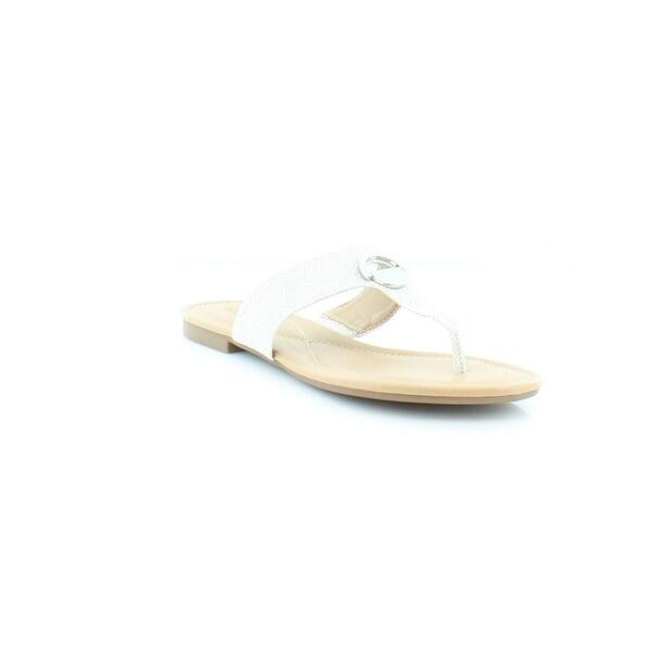 Alfani Holliss Women's Sandals & Flip Flops Light Grey
