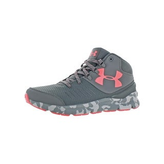 Under Armour Girls Overdrive Mid Marble Trainers Big Kid UA Storm - graphite/elemental/brilliance
