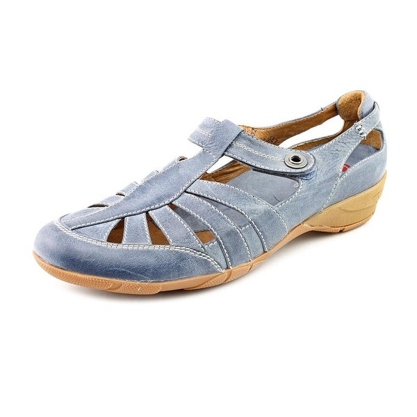 Blondo Begonia Women N/S Round Toe Leather Fisherman Sandal