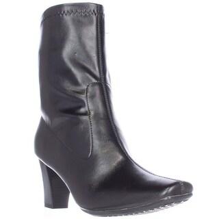 Aerosoles Geneva Memory Foam Mid-Calf Boots, Black