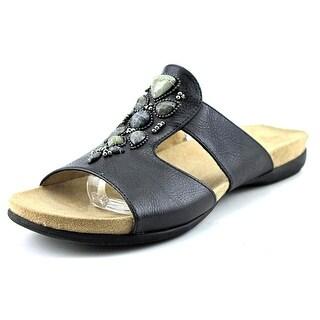 Naturalizer Alda Open Toe Synthetic Slides Sandal