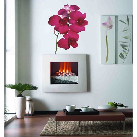 Orchid Wall Decal, Orchid Wall sticker, Orchid wall decor, Orchid Wall Art