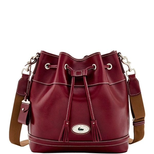 Dooney & Bourke Florentine Toscana Drawstring (Introduced by Dooney & Bourke at $498 in Sep 2016) - Bordeaux