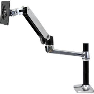 "Ergotron 45-295-026 Ergotron Mounting Arm for Flat Panel Display - 24"" Screen Support - 20 lb Load Capacity - Aluminum