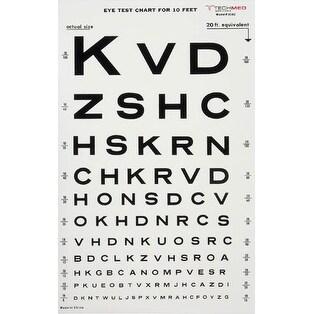 Illuminated Eye Chart-Snellen