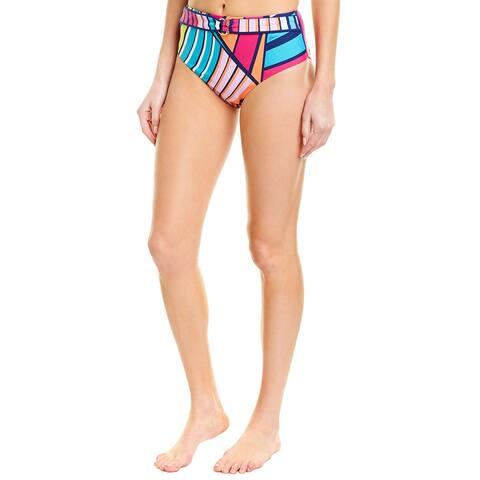 Trina Turk Catch A Wave Bikini Bottom