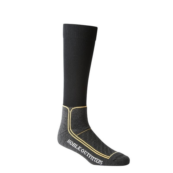 Noble Outfitters Socks Mens Womens Boot Thermothin Charcoal