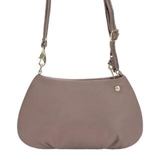 Pacsafe Citysafe CX - Blush Tan Anti-Theft Small Crossbody Travel Handbag