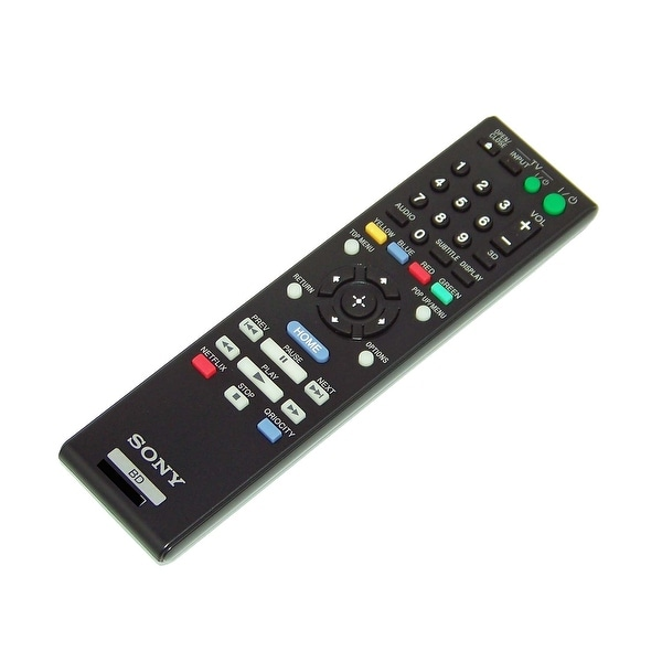 OEM Sony Remote Control Originally Shipped With: BDPS780, BDP-S780