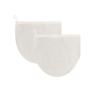 Mrs Anderson's Reusable 100% Cotton Jelly Strainer Bags - 2 pack - White