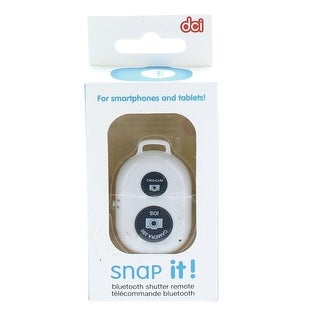 Snap It! Smart Phone Bluetooth Photo Remote: White - Multi