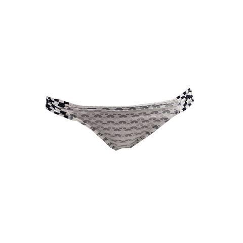 O'Neill White Navy Stars & Stripes Strappy Bikini Bottom S