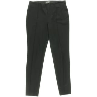 Vince Camuto NEW Black Women's Size 2X29 Elastic-Waist Seamed Pants
