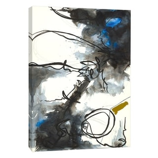 """PTM Images 9-105133  PTM Canvas Collection 10"""" x 8"""" - """"Riptide 2"""" Giclee Abstract Art Print on Canvas"""