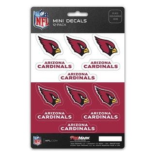 Arizona Cardinals Decal Set Mini 12 Pack