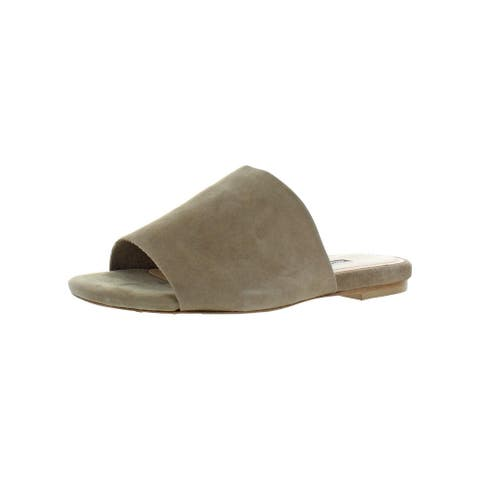 Charles David Womens Soleil 2 Flats Slip On Casual - Taupe Suede