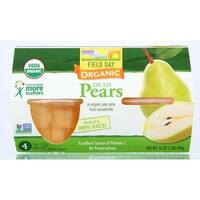 Field Day - Diced Pears Cups ( 24 - 4 OZ)