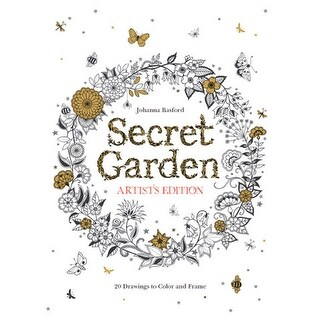 Chronicle Books - Secret Garden Artist's Edition: 20 Drawings to Color and Frame