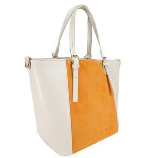 HS 5211 AO LALA Leather Shopper/Tote Bag