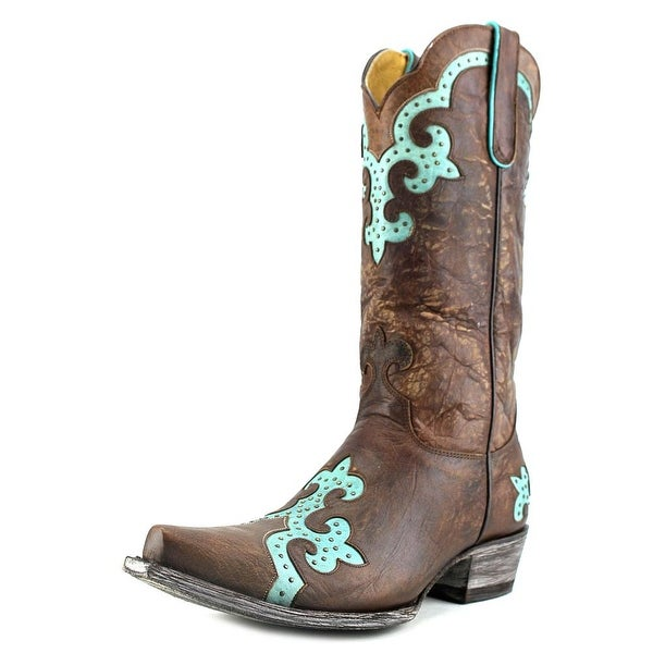 """Old Gringo Miley 13""""   Pointed Toe Leather  Mid Calf Boot"""
