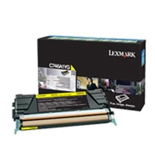 Lexmark C746a1yg Return Program Toner Cartridge, Yellow
