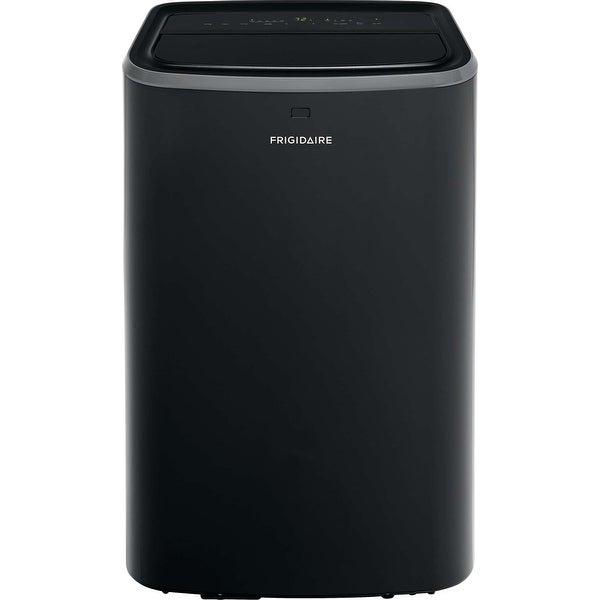 Frigidaire FFPH1222U1 12000 BTU 115 Volt Portable Air Conditioner with 4100 BTU Heater and Programmable 24-Hour Timer - Black