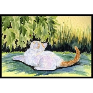 Carolines Treasures SS8273MAT 18 x 27 in. Cat Indoor & Outdoor Doormat