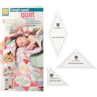Ez Quilting I Taught Myself To Quilt W/ Mini Tools 3/Pkg-