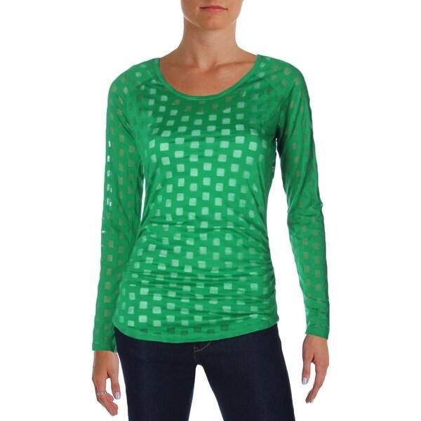 Michael Kors Womens Tunic Sweater Cowl Neck Tunic