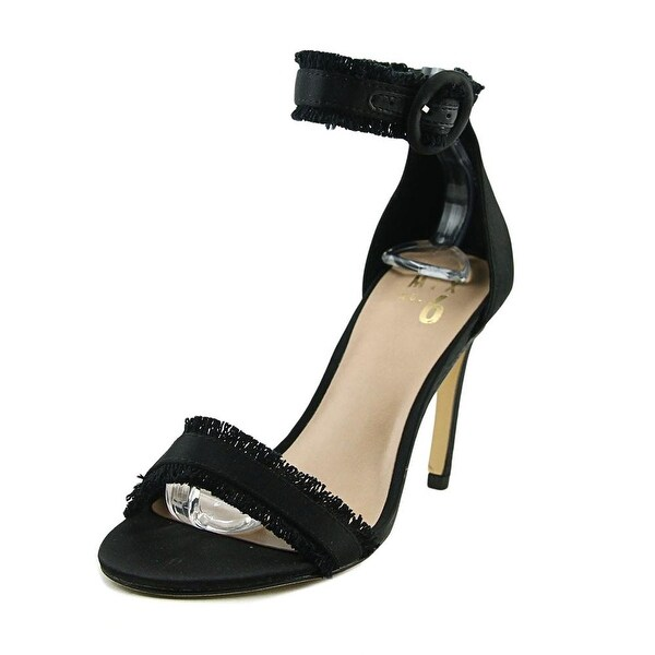 Mix No 6 Rayane Women Open Toe Canvas Black Sandals