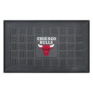Chicago Bulls Medallion Door Mat