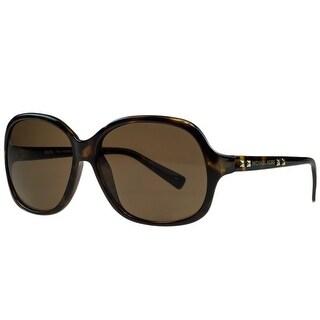 Michael Kors M2743/S PALO ALTO 206 Havana Square Sunglasses